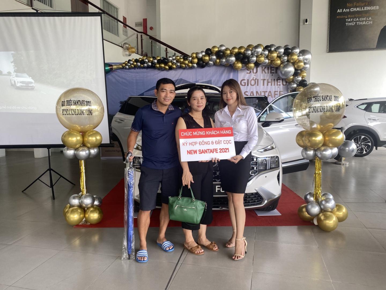 Hyundai Kinh Dương Vương tổng hợp sự kiện giới thiệu SantaFe 2021