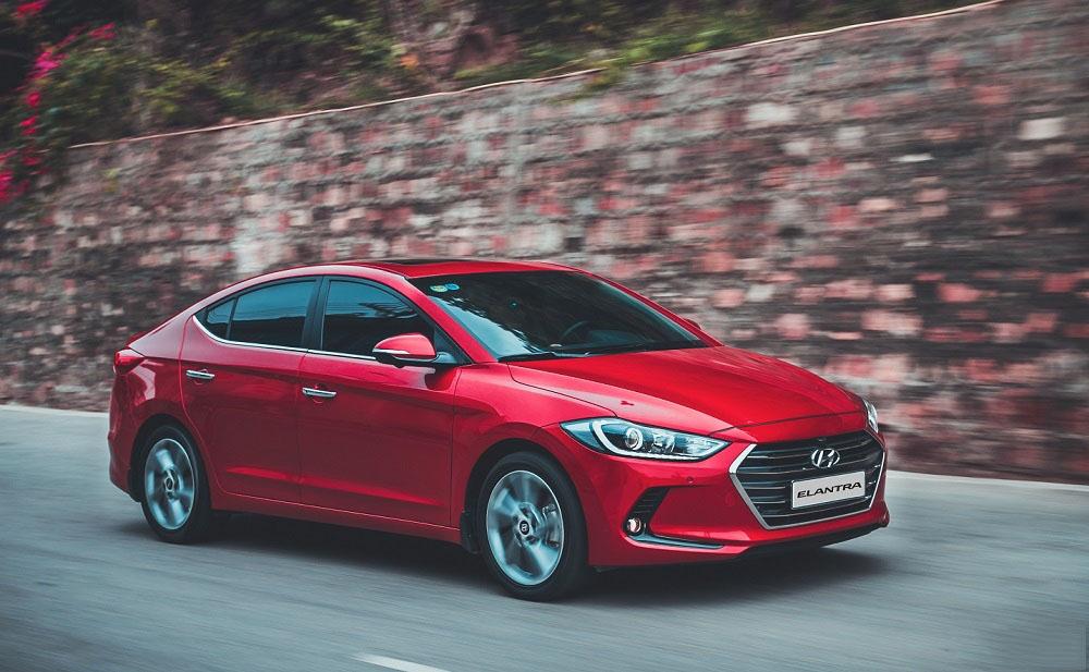 Hyundai Elantra -Bản nâng cấp chính thức ra mắt