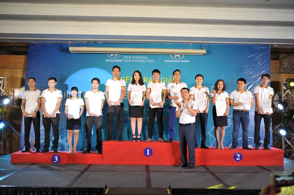 Hyundai Kinh Dương Vương đã xuất sắc đạt giải cao nhất tại